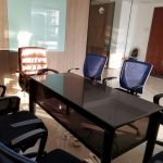 8 seater meeting room on rent vashi