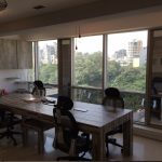furnished and cool office space in bandra