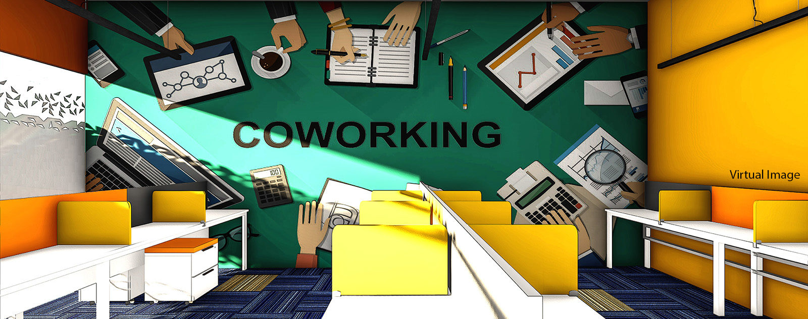 coworking space in turbhe